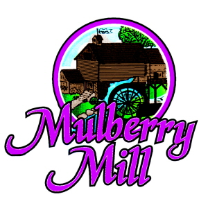 logo pink (color correct) brown mill dark pink